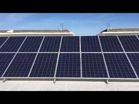 Installation solaire autoconsommation maroc