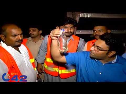 TMO gulberg raid on Dera Sheesha cafe, 3 smokers arrested