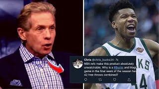 NBA WORLD REACTS TO BUCKS WIN OVER ORLANDO MAGIC! Giannis Drops 27 Pts and 12 Rebs