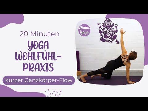 Yoga-Wohlfühlpraxis 20 Minuten