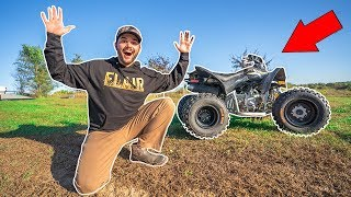 I Bought a MINI ATV for My FARM!!! (Bad Idea)