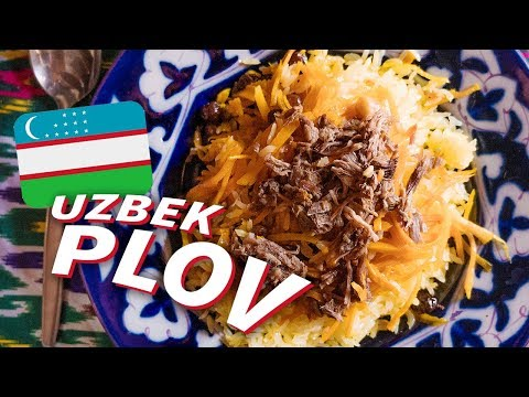 I Learned How to Make Uzbek Plov (Rice Pilaf)... in Uzbekistan
