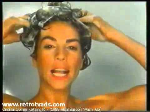 1989 Retro Vidal Sassoon Wash & Go