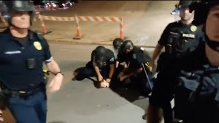 Austin Police investigating arrest of protester who says cop put knee on his neck