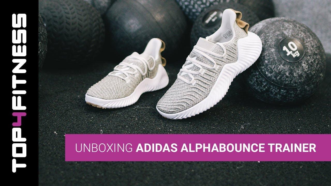 Inmersión personaje Interesar  adidas AlphaBOUNCE Trainer | Unboxing - YouTube