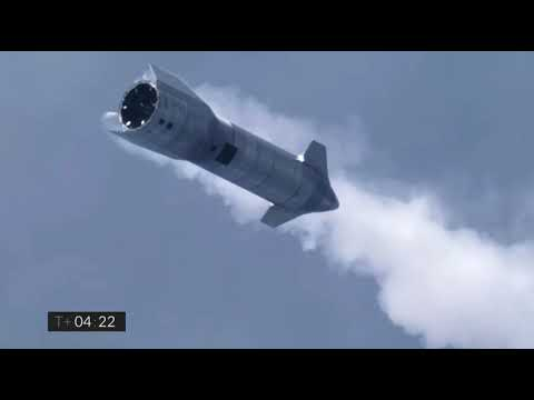 SpaceX Starship SN10 soars, lands for first time! - VideoFromSpace