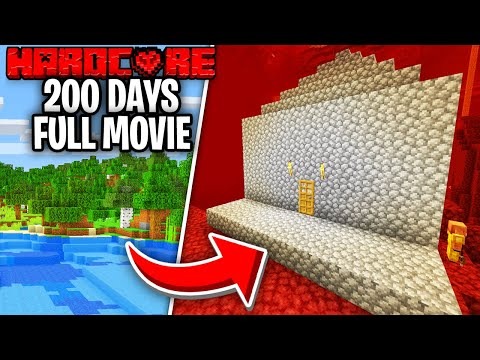 I Survived 200 Days on Hardcore Minecraft - Skyes