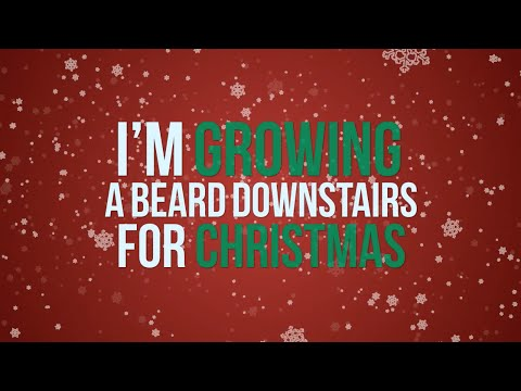 Kate Miller-Heidke ft. The Beards - I'm Growing A Beard Downstairs For Christmas (lyric video)