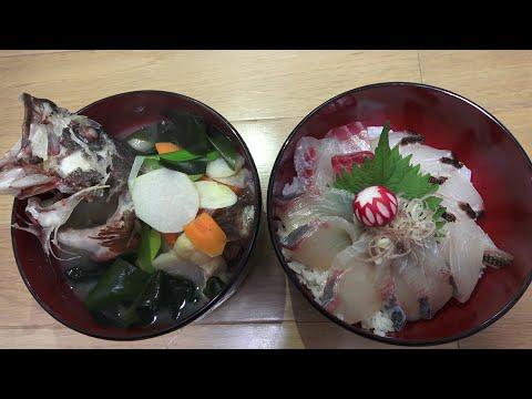 いっつも魚買ってますけども。つれたての魚だけを使った料理も作りたいんです。