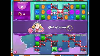 Candy Crush Level 3743 Talkthrough, 10 Moves 0 Boosters screenshot 3