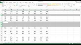 How to delete aĮl blank rows in Excel in 3 seconds