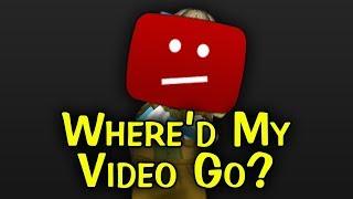 Where'd My Video Go?