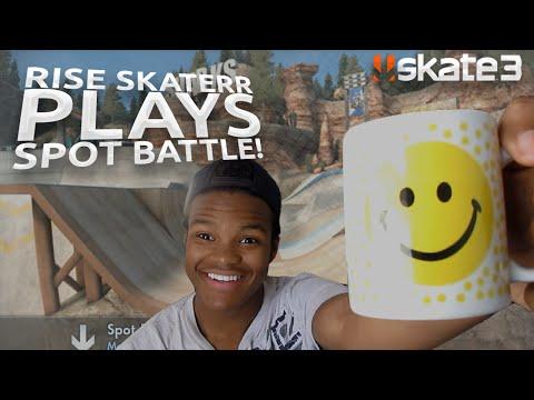 SKATE 3 - RISE SKATERR PLAYS SPOT BATTLE!
