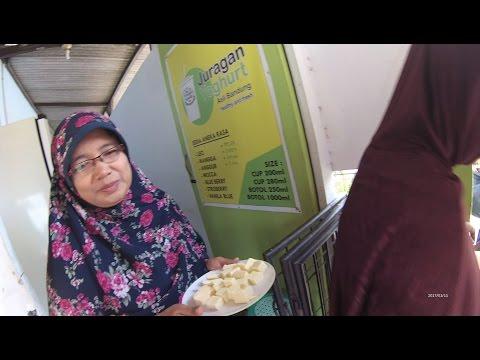 Indonesia Jakarta Street Food 1151 Part.3 Juragan Yoghurt Gaya Baru Depok 5034