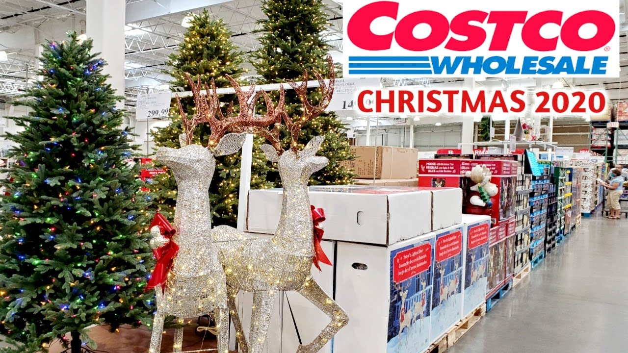 COSTCO CHRISTMAS DECOR, TREES AND TOYS | SHOP WITH ME 2020 | SNEAK