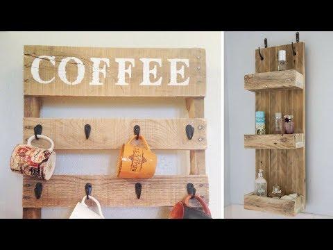 🌺 5 Marvelous DIY Vertical Organizer Ideas Using Repurposed Wood 🌺