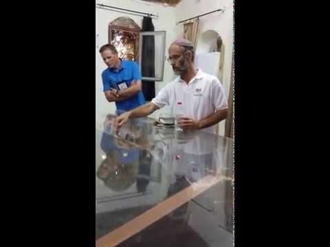 Visit Israel - Tabernacle Description In Shiloh On Christian Tour