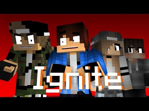 Ignite ( Spectre 2 ) - Alan Walker & K-391 (A Minecraft Bully Story Music Video)