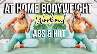18 MINUTE AB AND HIIT WORKOUT *NO EQUIPMENT*