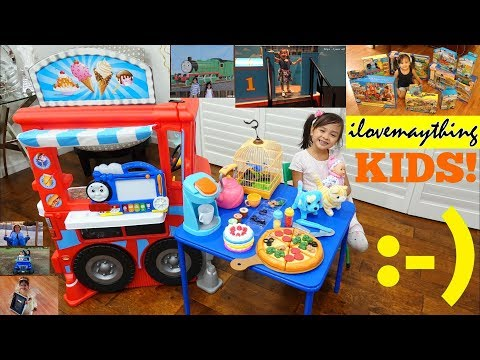 Play Tent Playtime, Baby Doll Toy, Food Toys, Kitchen Playset, Animal Toy and Toy Cars for Kids