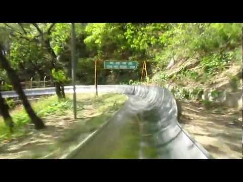 Great Wall of China - Riding the Toboggan in Mutianyu!