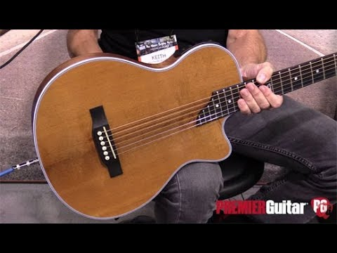NAMM '18 - Traveler Guitar Thinline Performer Series