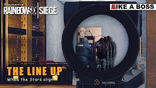 THE LINE UP | Rainbow Six Siege