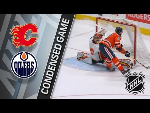Calgary Flames vs Edmonton Oilers – Jan. 25, 2018 | Game Highlights | NHL 2017/18 Обзор