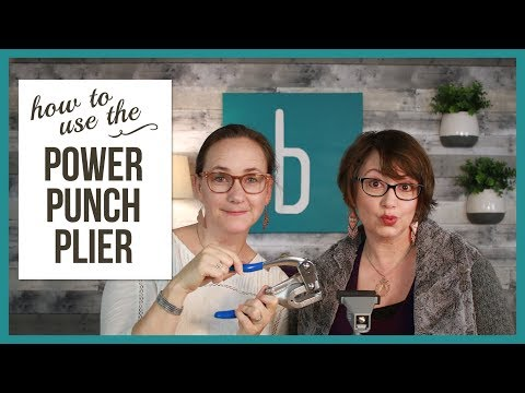 Tips for Punch Holes in Metal with the Power Punch Plier - From Beaducation Live Episode 35