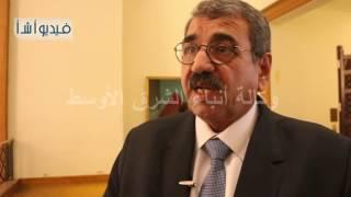 بالفيديو : رئيس مصلحة الري مصر تواجه عدة تحديات في مجال الموارد المائية