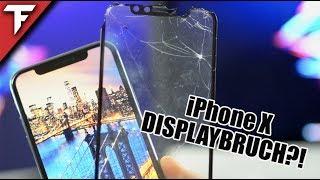 NIE WIEDER DISPLAYBRUCH⁉️ iPhone X DropTest mit GLAZ Panzerglas