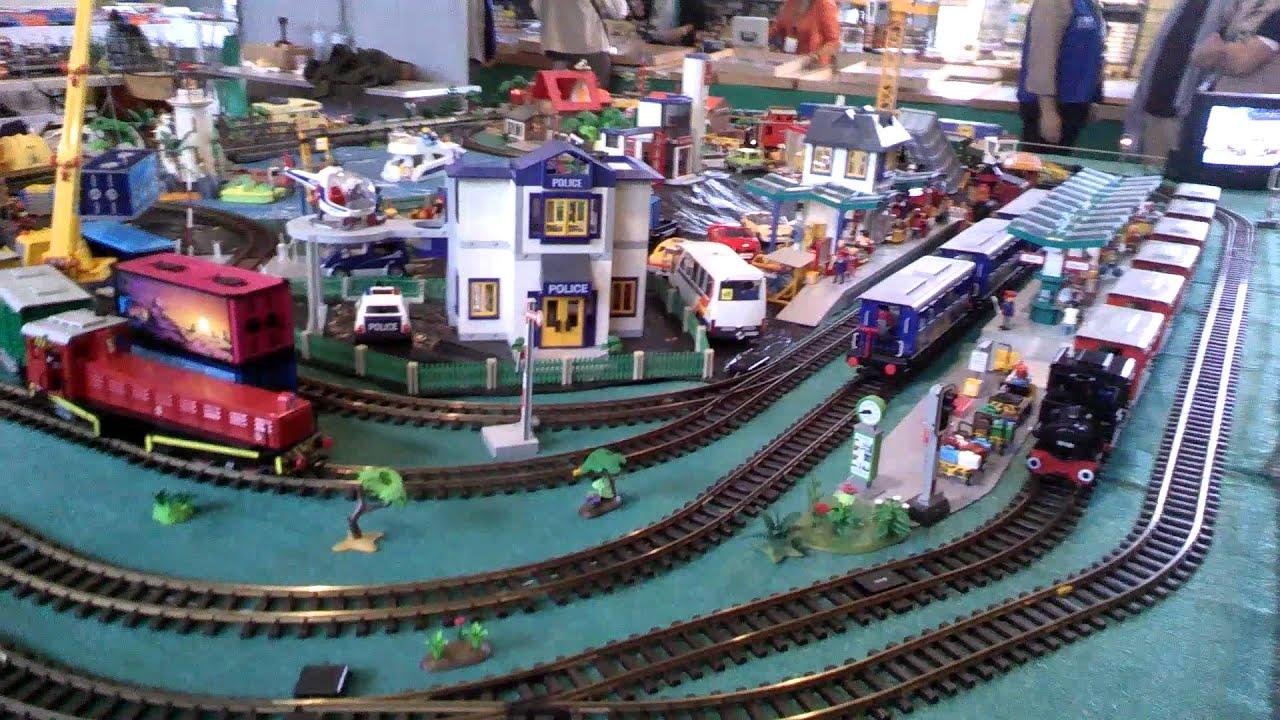 Nancy expo train 2015 playmobil youtube - Train playmobil ...