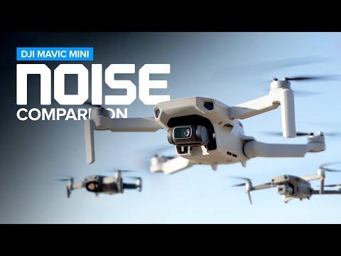 DJI Mavic Mini Propeller Noise Comparison