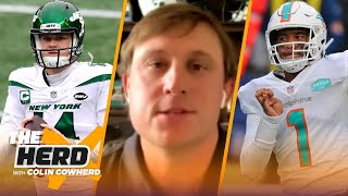 Chad Pennington on Sam Darnold in Carolina, Miami committing to Tua, Mac Jones I NFL I THE HERD