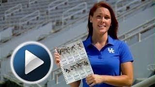 "Kentucky Wildcats TV: Football Season Tickets ""All-In Books"""