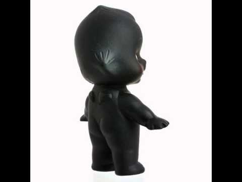 Black Kewpie Doll Baby Cupie Vintage Cameo Figurine Rubber Original Japan Obitsu Collect