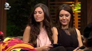 Beyaz Show 8 Şubat Wesley Sneijder'in eşi Yolanthe Cabau'un tercümanı Eser TöZüM - PART 7