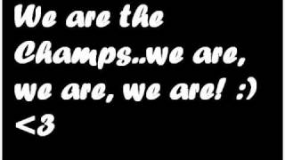 Right Said Fred - We Are The Champs (mit Lyrics :p)