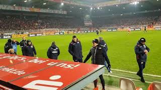 Union Berlin gegen Köln     Die letzten Minuten der Zerlegung des 1.Fc Köln