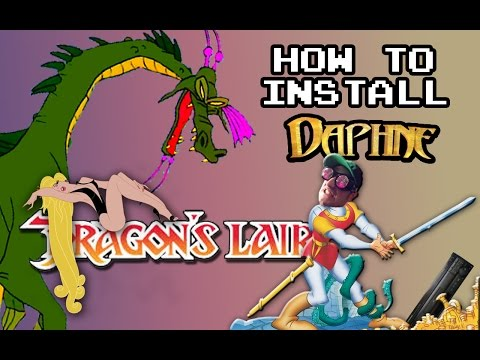 How to install Daphne and play Dragrons Lair
