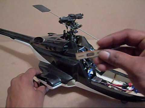 Fusuno Airwolf 450 Scale Build Guide Pt 2