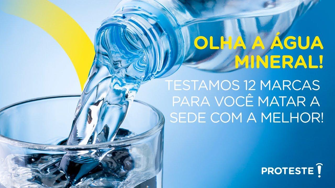 Teste da Água Mineral avalia a MELHOR marca do mercado. Confira!