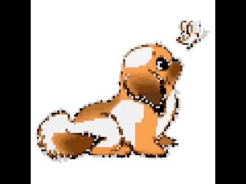Chiot Trop Mignon Pixel Art Youtube
