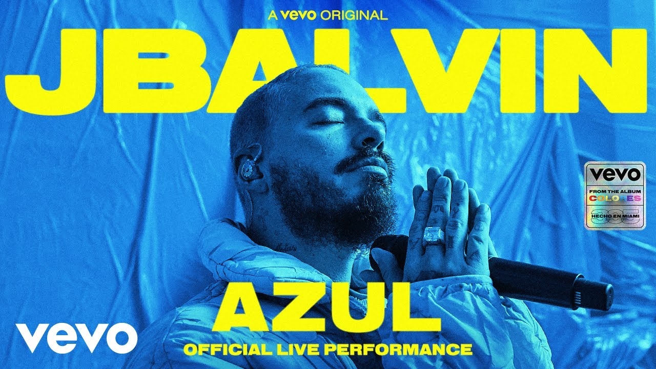 J. Balvin - Azul (Official Live Performance) | Vevo