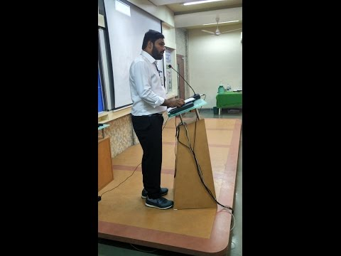 Energy Conservation and Auditing by Dr Sanjay Gopal at AIKTC
