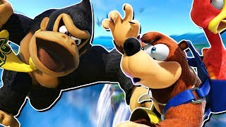 Lost To CRAZY Online Donkey Kong With Banjo & Kazooie