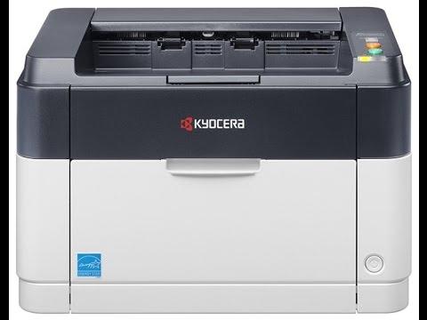 Как установить драйвер на принтер kyocera fs 1025mfp