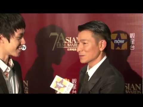 7th AFA 第七屆亞洲電影大獎 - Interview with Jury President Andy Lau 評審主席劉德華訪問片段