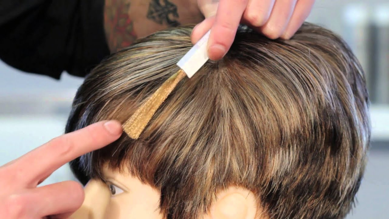 How to Cover Gray With Highlights of Light Brown Hair Hair