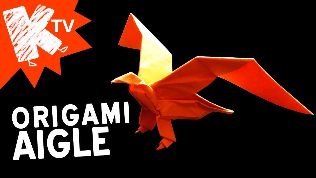 Origami Aigle Facile Youtube